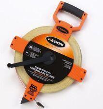 Keson Otr-18-300 Open Reel Heavy Duty Fiberglass Blade Measuring Tape New