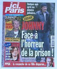 ICI PARIS N° 3072 JOHNNY HALLYDAY DANIELE GILBERT FABIENNE THIBEAULT DAVE DALLE