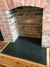 T Shape black slate hearth stone Cut to size 20mm thick Max length 120cm x 90cm