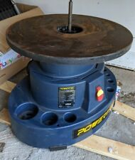 Powertect Os1000 Oscillating Spindle Sander With 18 Dia Cast Iron Table