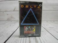 Vintage Cassette Tape DELTA Self Titled (1985) NEW/SEALED