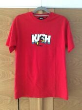 KITH Disney running Mickey T-shirt red size XS 38 new with tags