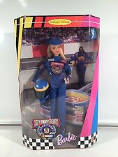 Vintage Collection 1998 Hot Wheels Mattel Nascar 50th Anniversary Barbie 11.5""
