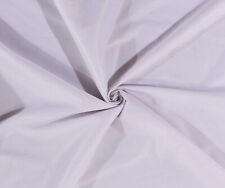 """108"""" Tricot White Semi-Sheer 2-Way Stretch Lightweight Fabric by Yard D177.01"""