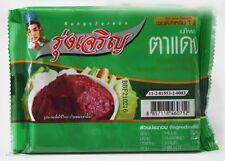 ู6X (20g.) Thai Chili Paste [RUNGCHAROEN BRAND] Tamarind Red Spicy (Tadang) Mini