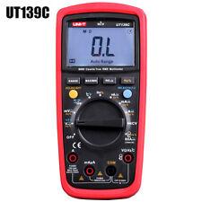 New! UNI-T UT139C True RMS LCD Digital Auto Range Multimeter AC/DC Tester Meter