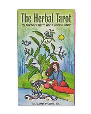 The Herbal Tarot Deck/Cards - Divination, Meditation, Spellcraft, Herb Magick
