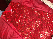 NAUGHTY SEXY WOMAN HALLOWEEN COSPLAY COSTUME LAS VEGAS RED DRESS VERY SHORT SMA
