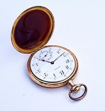 Ultra RARE, UNIQUE ANTIQUE Pocket Watch HOWARD E.Howard Watch Co BOSTON 17Jewels