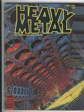 Heavy Metal June 1979 Vol. 3 #2 Wrightson Simonson Mature Readers GD