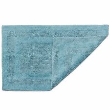 HygroSoft by Welspun 1-Foot 5-Inch x 2-Foot Reversible Bath Rug in Blue