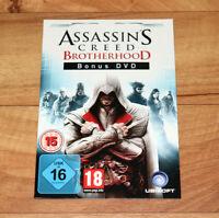 Assassin's Creed Brotherhood Bonus DVD very Rare Artworks / Videos