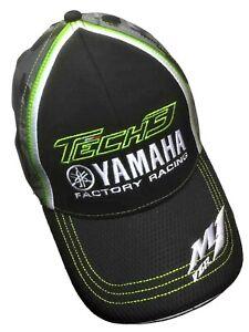 CAP Curved Peak YAMAHA Tech3 Factory Racing Camouflage Bike MotoGP Superbike NEW