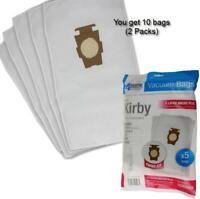 10 Hepa Micro Bags Fits Kirby G3 G4 G5 G6 G10 Style F Ultimate G Diamond Sentria