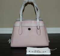 💚 COACH Lora Carryall Tote Bag Large Leather Shoulder Purse Handbag Aurora $395