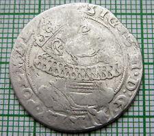 POLAND LITHUANIA SIGISMUND III WASA 1625 ? SZOSTAK - 6 GROSZ GROSCHEN, SILVER
