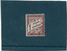 1893/1935  -  TIMBRES FRANCE TAXE NEUF  n° 40A **
