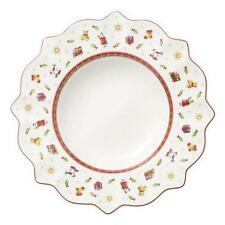 Villeroy & and Boch Christmas TOY'S DELIGHT white rimmed bowl 26cm NEW NWL