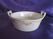 Old Buffalo China Butter Tub W. Insert 1916