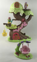 Early Learning Centre Happyland Forest Fairy Treehouse + Figures + Fairy Swing