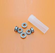 MF84ZZ Kugellager, 4x8x3 mm, Flange Bund Flansch Kugellager Miniaturlager mf