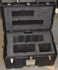 MILITARY HARDIGG PLASTIC RUGGED WEATHER PROOF STORAGE SHIPPING HARD CASE 22 X 14