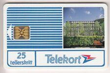EUROPE TELECARTE / PHONECARD .. NORVEGE 70TK SC4ON T7 N°1 TOWER UT/TBE CHIP/PUCE