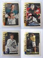 1996-97 BaP Signature Be a Player #206 Joseph Curtis  autograph  oilers