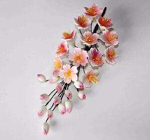 Sugar CHERRY BLOSSOM Flower, Medium, Cake Topper, Gum Sugarpaste, Wedding