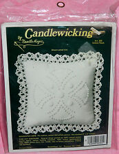New NeedleMagic Cotton Patch Candlewicking Kit Pin Cushion Sachet Doll Pillow