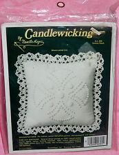 New NeedleMagic Cotton Patch Candlewicking Kit Pin Cushion Sachet Doll Pillow
