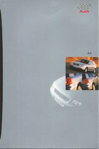 Audi A3 UK Market Brochure 1997 Incl A3 Sport 52 Pages Excellent Condition