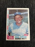 1982 TOPPS ALL-STAR # 549 GEORGE BRETT , ROYALS Excellent- Near Mint Condition