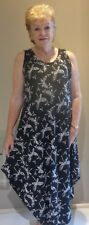 Stunning Long colourful Singlet Dress plus size 10-16 casual or Dressy Classic