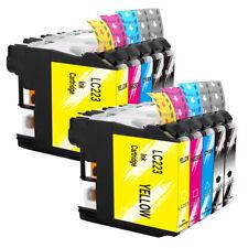 10x Tinte Drucker Patronen für BROTHER LC223BK LC223M LC223Y LC223C LC229BK