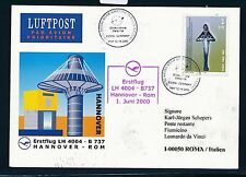67816) LH Expo SF Hannover-ROMA ITALIA 1.6.2000, SP CARD STAMP ONU/Kosovo