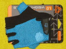 RBX RF-A2319N-L Womens Weight Lifting Gloves Blue Mesh Large, New!