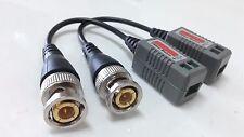 Lot (100pcs) BNC pigtail video balun via CAT5e Cat6 UTP cable HD Security Camera