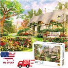 1000 piece England Cottage Jigsaw Puzzle Puzzles For Adults Learning Education