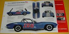 1965 Chevrolet Corvette Sting ray SCCA BP Race Car 327 ci 375 hp info/spec/photo
