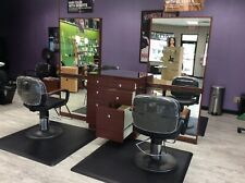 Beauty Salon Equipment;1 Unit = 4 Stations - Matts & Chairs Incl. 2 Units Total