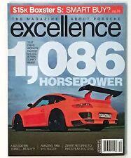 10/2011 Excellence Porsche Magazine  Fastest 911 GT3 Twin Turbo Test Drive Mint