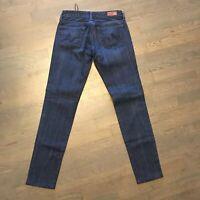 AG Adriano Goldschmied The Club Skinny Stretch Denim Jeans Woman's Size 26R