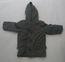 John Lewis Infant Boys Green Winter Hooded Jacket 12-18 Months