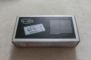 Roland TB03 303 Boutique Bassline Synthesiser BOXED