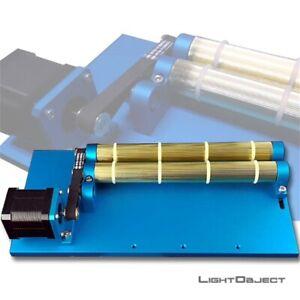 Mini Rotary Attachment for CO2 Laser Engraver Machine