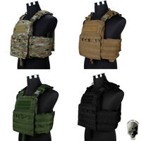 TMC Cherry Plate Carrier Tactical Vest CPC Camo Molle Genuine Military Camo CP