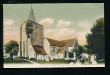 Hants Hampshire All saints Church c1900s? PPC by F G O Stuart