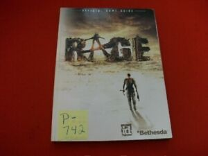 """COLLECTIBLE OFFICIAL GAME GUIDE """"RAGE"""" EXCELLENT GAME INFO & TIPS FROM DEVELOPER"""