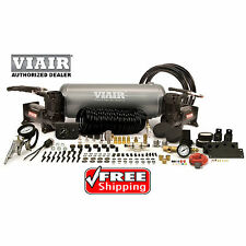 VIAIR Stealth Black 20016 Dual 400c Air Compressor 2g Tank On Board Air 150psi